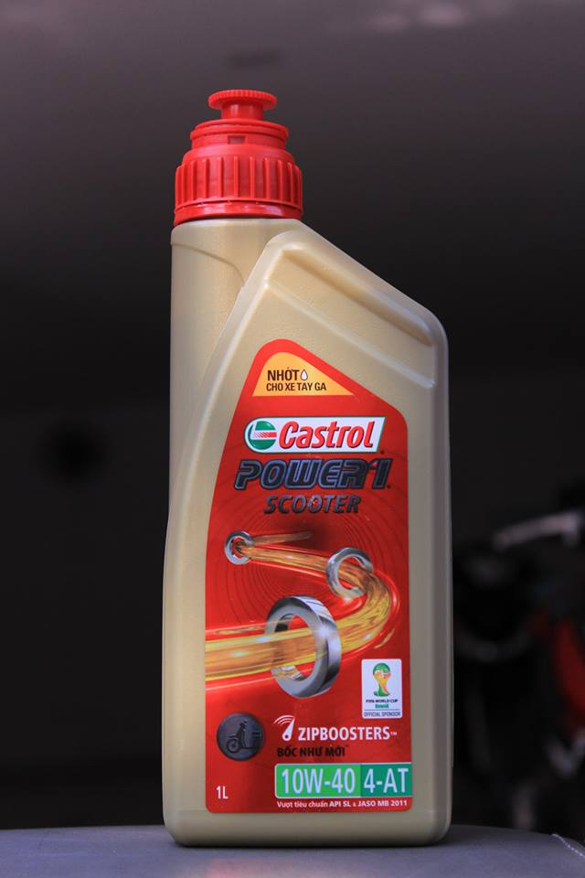 Castrol power 1 scooter 1 l  - 1