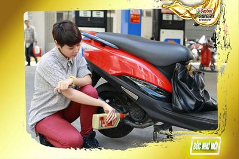 Sử dụng đúng dầu nhớt tốt cho xe ga - 1