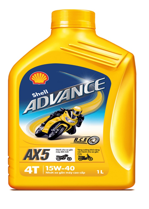 Shell advance ax5 15w40 1l - 1