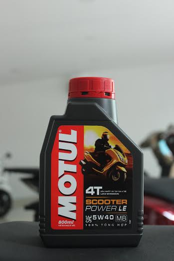 Motul scooter power le 08l - 1