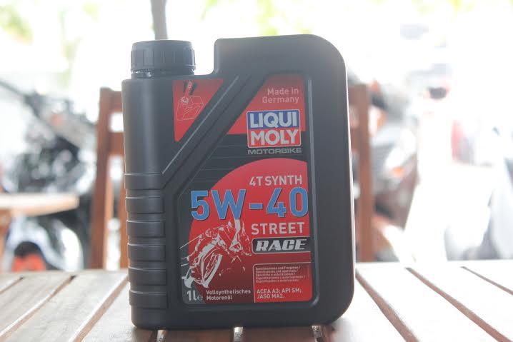 Liqui moly motorbike synth 4t 5w40 - 1