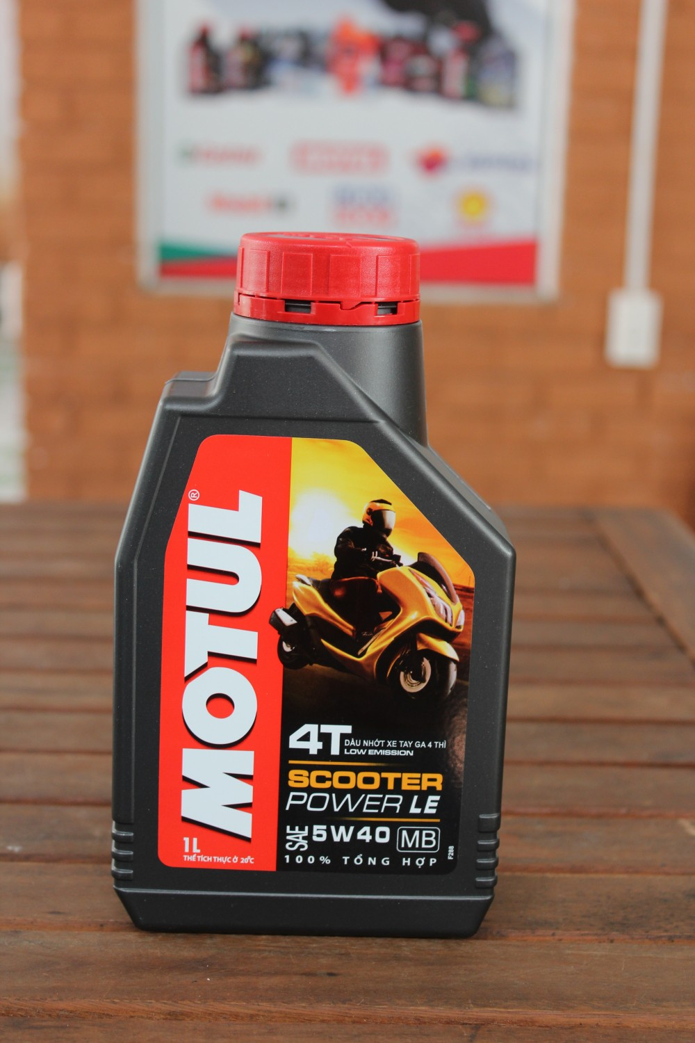 Motul scooter power le 1l  - 1