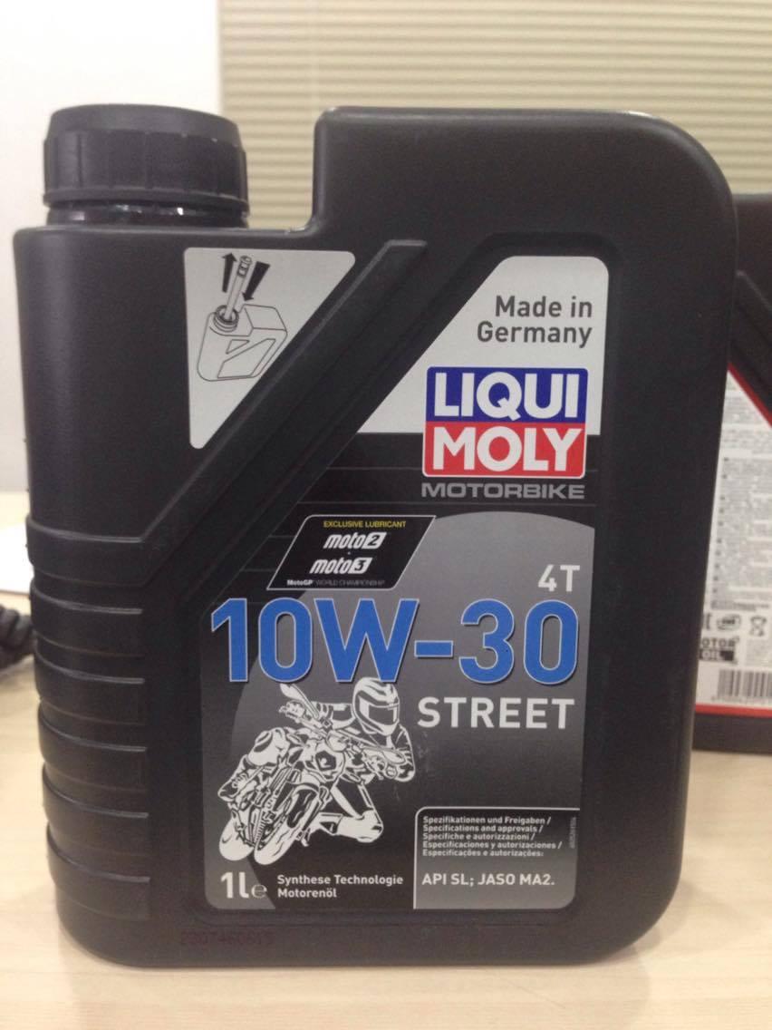 Liqui moly motorbike street 4t 10w30 - 1