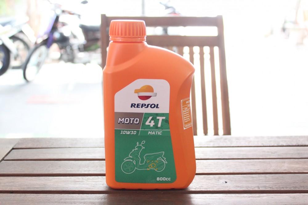 Repsol dầu nhớt cho nhà vô địch - 8