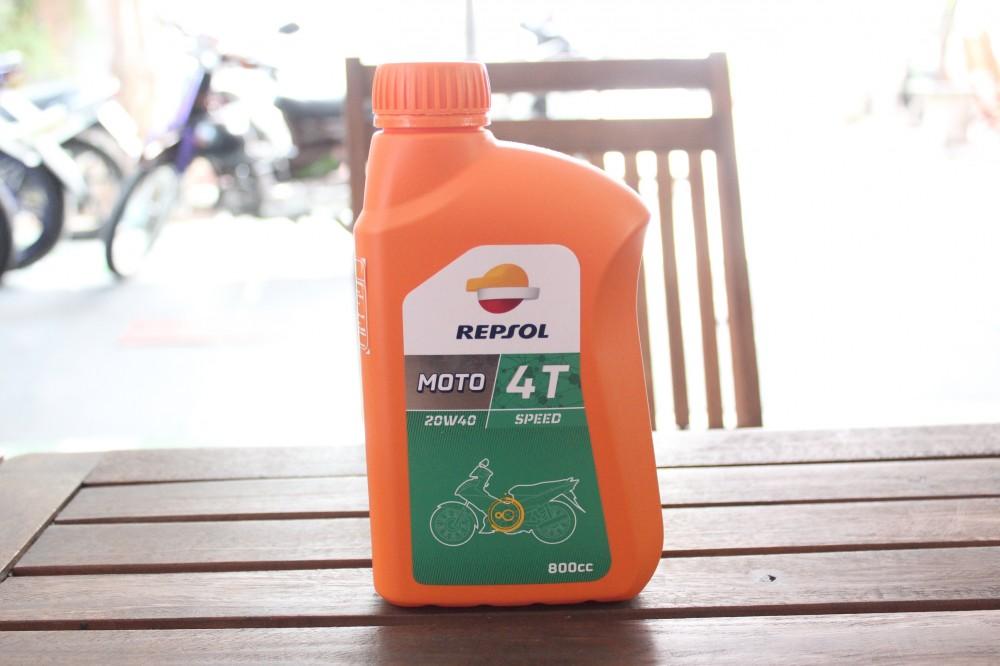 Repsol dầu nhớt cho nhà vô địch - 6