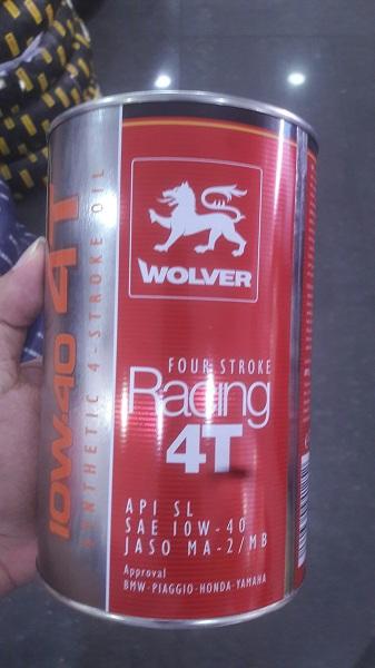 Winner 150 thay nhớt wolver racing có tốt không - 3