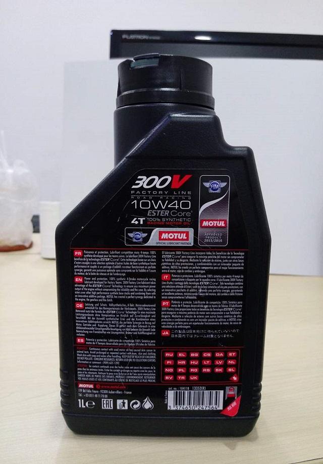 Motul 300v nhập khẩu pháp - 1