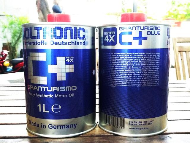 Nhớt voltronic granturismo c blue - 1