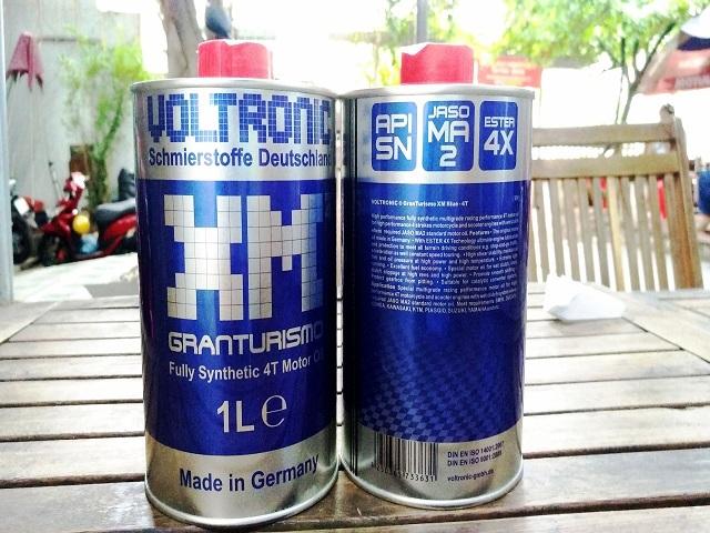 Nhớt voltronic granturismo xm blue - 1