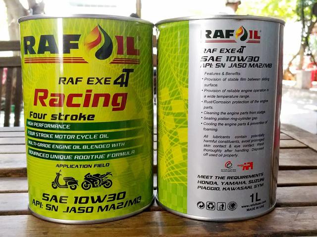 Nhớt raf oil racing 10w30 1l - 1