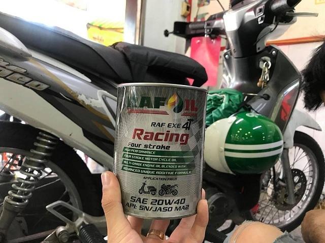 Nhớt raf oil racing 20w40 08l - 2