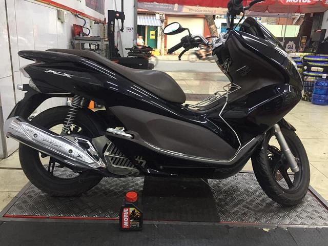 Honda pcx thay nhớt motul scooter power le 08 l - 1