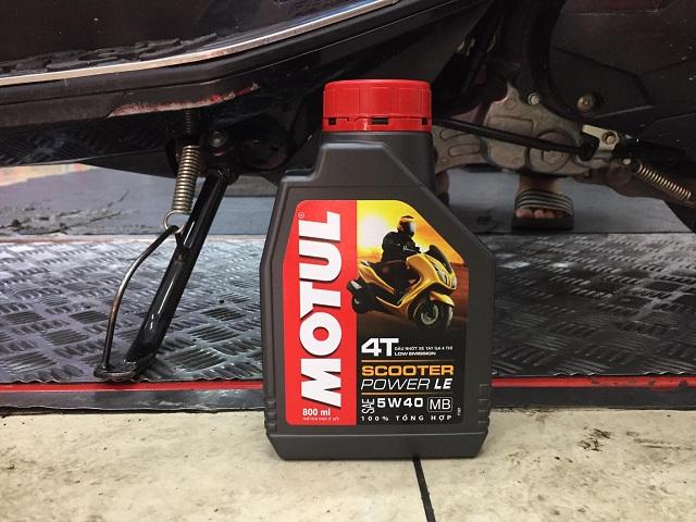 Honda airblade thay nhớt motul scooter power le có tốt không - 3
