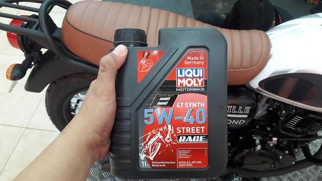 Đánh giá nhớt liqui moly motorbike synth 4t 5w40 cho xe moto pkl - 1
