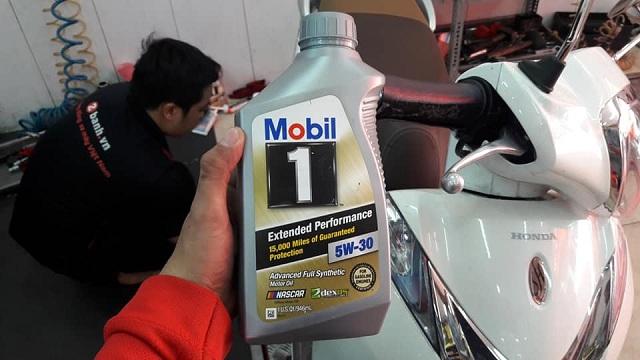 Đánh giá nhớt mobil 1 gold 5w30 cho dòng xe tay ga sh mode - 2