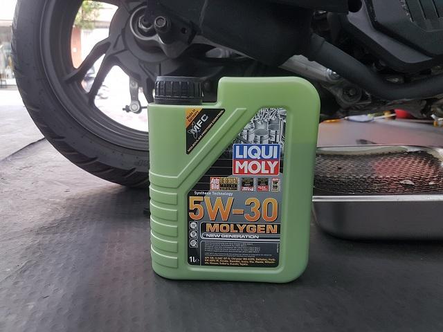 Honda vario thay nhớt liqui moly molygen 5w30 có tốt không - 3