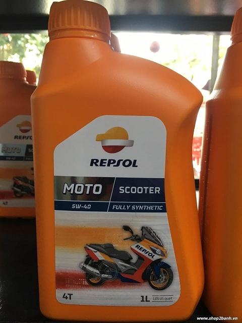 Repsol moto scooter 4t 5w40 - 1