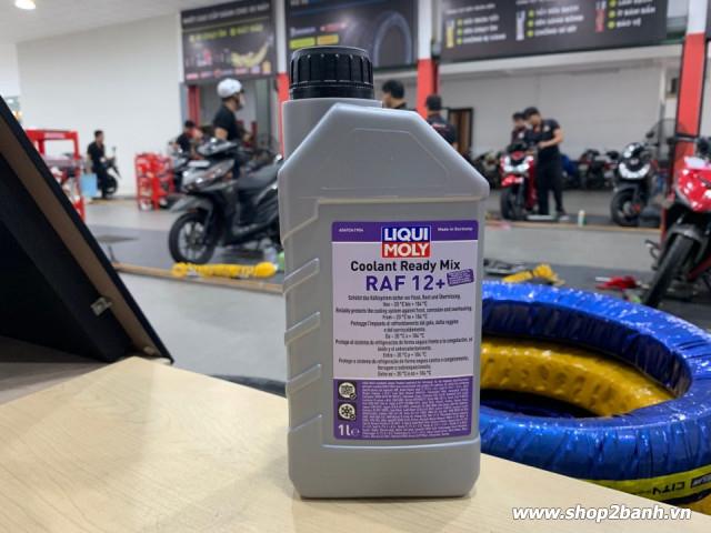 Nước làm mát xe máy liqui moly đỏ không pha - 1