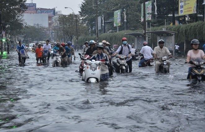 Xe tay ga ngập nước thì phải làm gì - 4