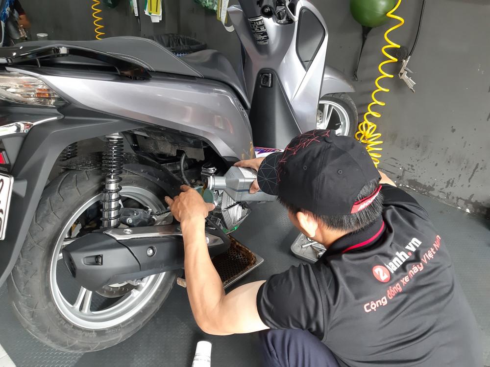 Chọn nhớt nào tốt cho xe sh mới mua chạy rodai - 2