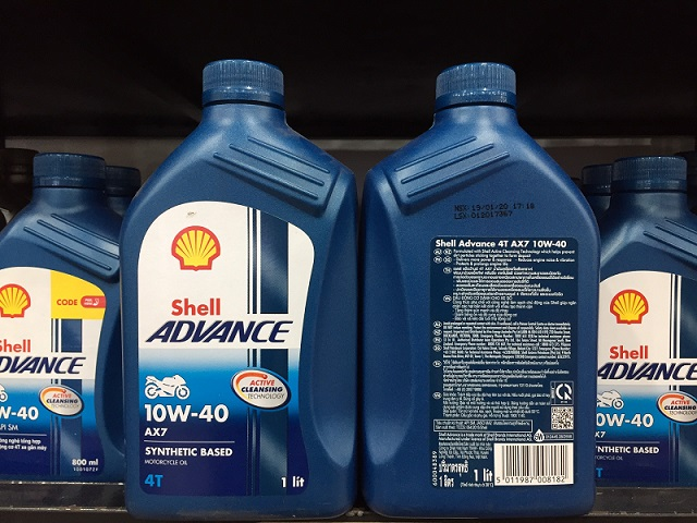 Shell advance 4t ax7 10w40 synthetic based 1l - 1