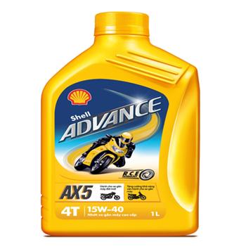 Shell Advance AX5 15W40 1L