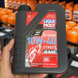 Thay nhớt liqui moly 5w30 cho xe nouvo lx - 2