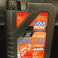 Thay nhớt liqui moly 5w30 cho xe nouvo lx - 1