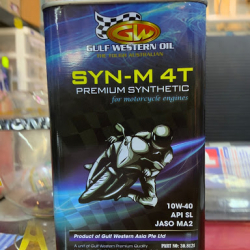 Nhớt Gulf Western SYN-M 4T Premium 10W40 1L
