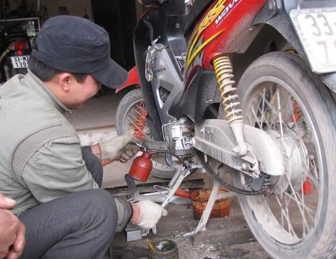 Bạn đã bảo dưỡng xe máy của mình đúng cách?