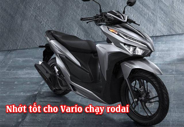 Chọn nhớt nào tốt cho xe Vario mới mua chạy rodai?