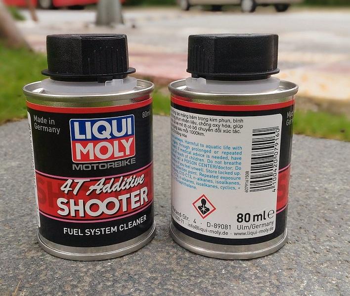 Công dụng dung dịch vệ sinh buồng đốt Liqui Moly