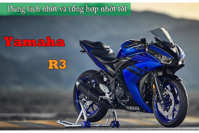 Dung tích nhớt xe R3 và các loại nhớt tốt nhất cho Yamaha R3