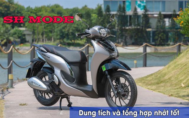 Dung tích nhớt xe SH Mode và các loại nhớt tốt cho SH Mode