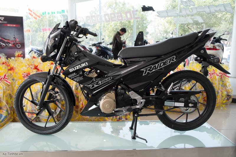 Những loài nhớt phù hợp cho xe Suzuki Raider
