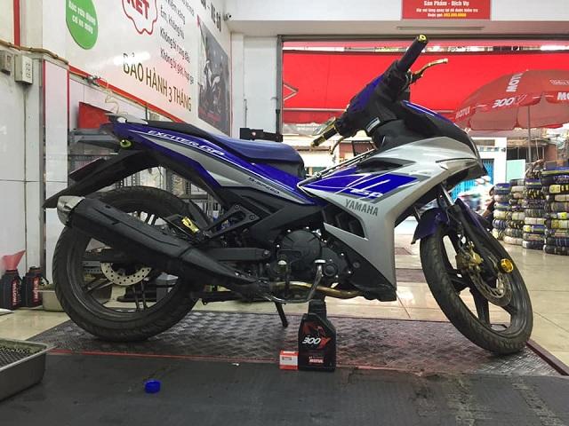 Thay loại nhớt nào tốt cho xe Yamaha Exciter 150