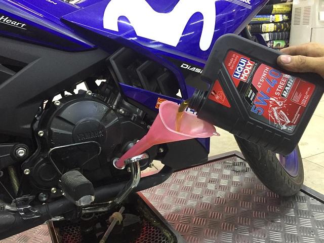 Thay nhớt Liqui Moly Motorbike Synth 4T cho Exciter 150 có tốt không?