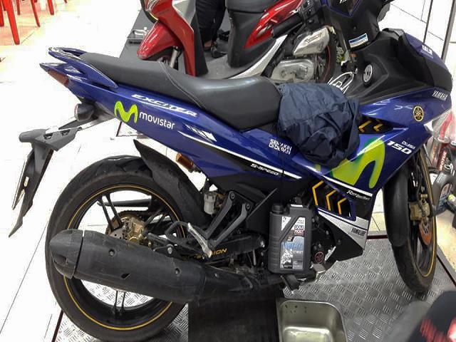 Thay nhớt xe máy Liqui Moly cho Exciter 150 tốt không?