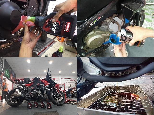 Tổng hợp những dòng nhớt tốt cho xe moto phân khối lớn dịp cuối năm