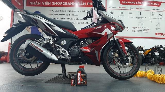 Tư vấn chọn nhớt xe máy tốt nhất cho Honda Winner X 2020